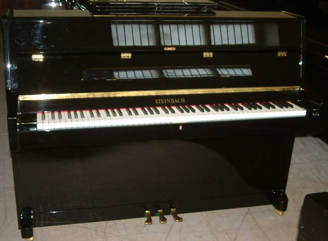 Steinbach black gloss piano.